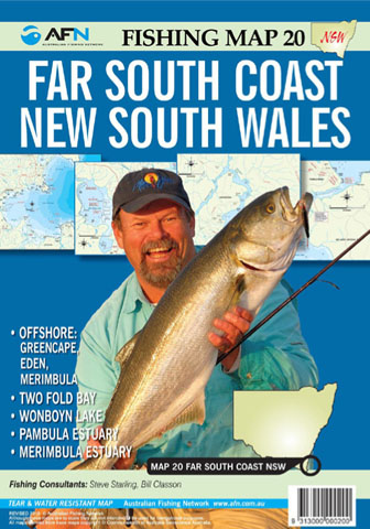 Far South Coast NSW Fishing Map 20 AFN